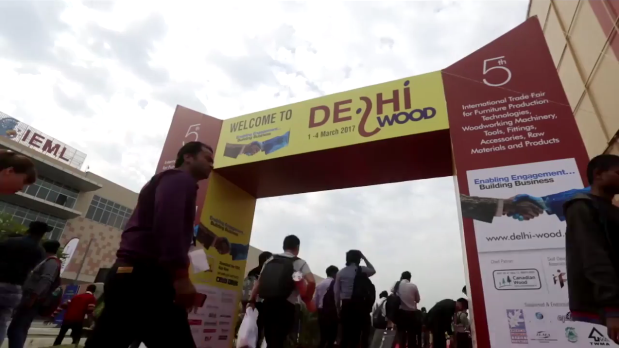Barton participates in the DELHIWOOD Fair (New Delhi, India)
